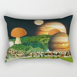 Fungi Waterfalls Rectangular Pillow