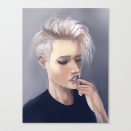 Sensual girl Canvas Print