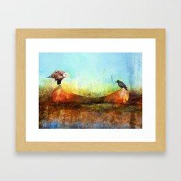 Feathered Friends Framed Art Print