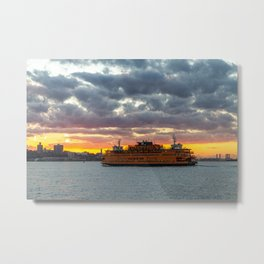 Staten Island Ferry 2020 Metal Print