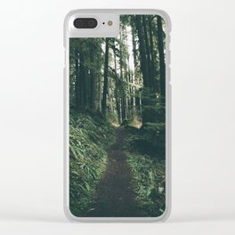 Happy Trails VII Clear iPhone Case