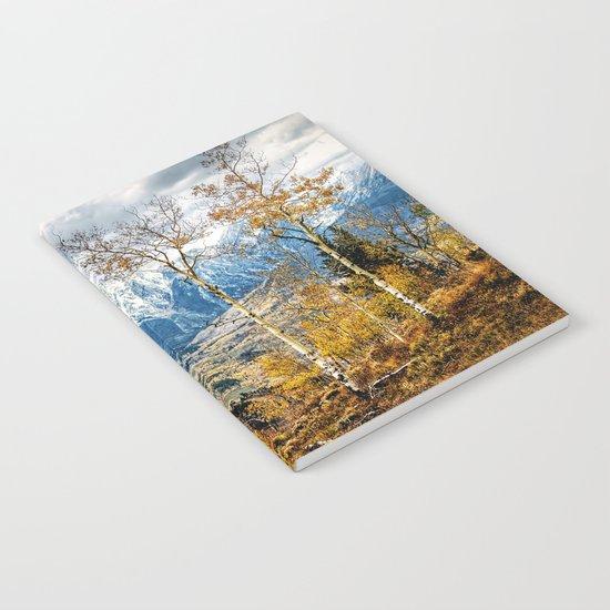 Colorado Autumn Notebook