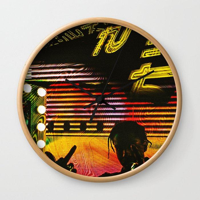 Long Live A$AP Rocky Fanmade Artwork Wall Clock