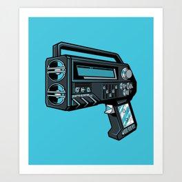 GHETTOBLASTER3000 Art Print