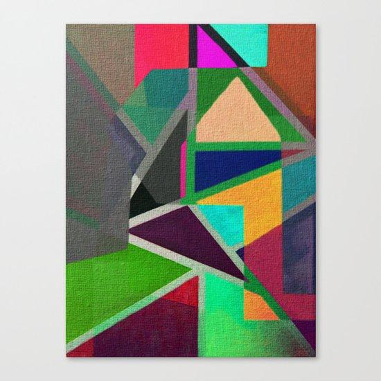 Complicerend Piet Mondriaan Canvas Print