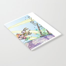 Laughing Along the Path - One Boy and a Toy Notebook