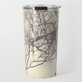 Winter Birch Trees Travel Mug