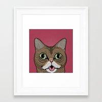 lil bub Framed Art Prints featuring 'Lil Bub by Sydney Emery
