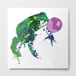 Frog Pop Metal Print