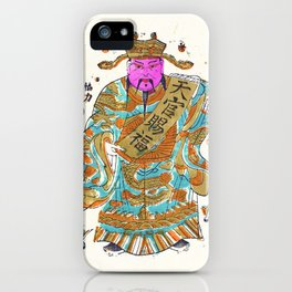 Chinese New Year • Good Luck • Lucky • Lunar New Year • Door God • Asian Art iPhone Case