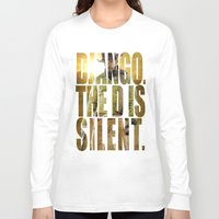 django Long Sleeve T-shirts featuring Django Unchained by SB Art Productions