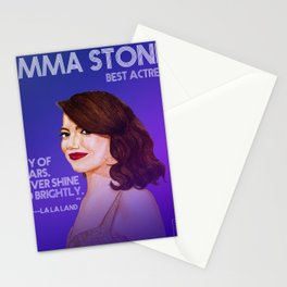 Best Actress Stationery Cards