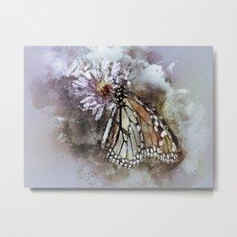 Butterfly Butterflies Monarch Metal Print