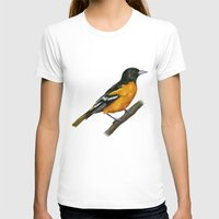baltimore T-shirts featuring Baltimore oriole  by Science Ink