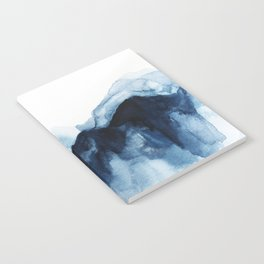 Abstract Indigo Mountains Notebook