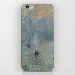 Claude Monet's Impression, Soleil Levant iPhone Skin