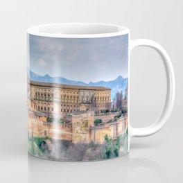 Fairytale castle on the cliff Coffee Mug