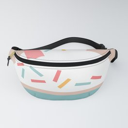Ice Cream (Peach) Fanny Pack
