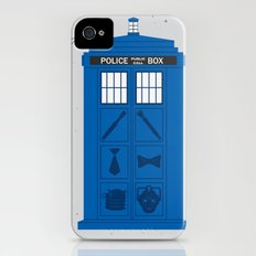 The Tardis Got Some Ink Slim Case iPhone (4, 4s)