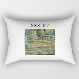 Monet - The Water Lily Pond Rectangular Pillow