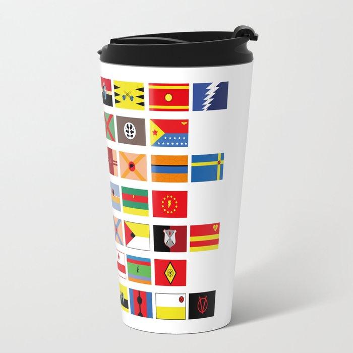 SH as flags Travel Mug