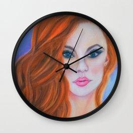 Glamorous Redhead Jessica Rabbit Wall Clock