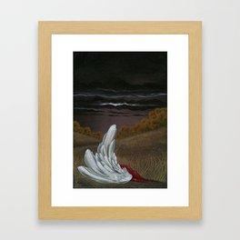 Yesseil's Fall Framed Art Print