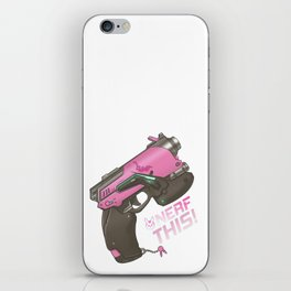 Nerf This! D.va Quote Poster, OW iPhone Skin