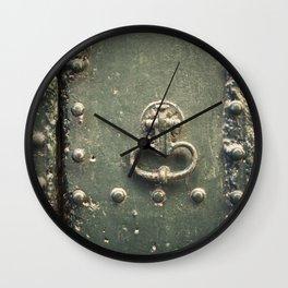 Doorknocker Wall Clock
