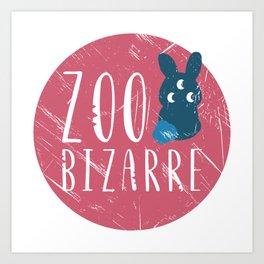Zoo Bizarre Art Print