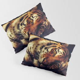 The Powerful Tiger at Rest Pillow Sham