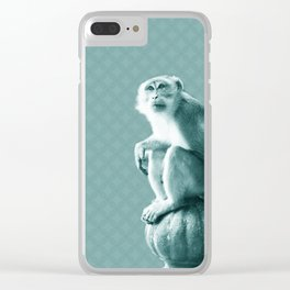 Monkey See Clear iPhone Case