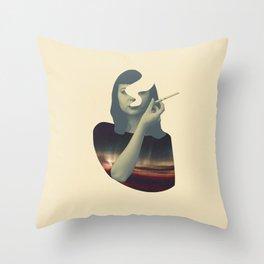 Smoking Series (v2) Throw Pillow