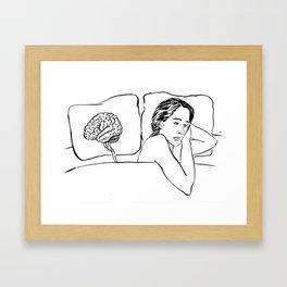 Insomnia Diary 1 Framed Art Print