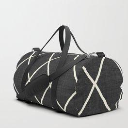 Avoca in Black and White Duffle Bag