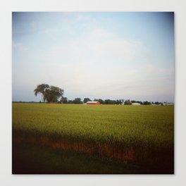 Midwest Field 01, Holga Canvas Print