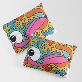 Psychedelic eye lick Pillow Sham