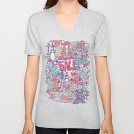 welcome to bali indonesia Unisex V-Neck