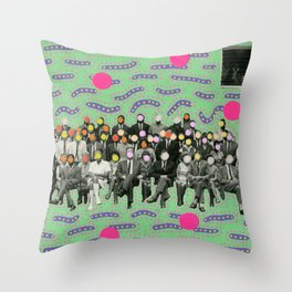 Photobombing Throw Pillow