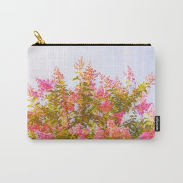 Pink Crepe Myrtle Flowers Carry-All Pouch