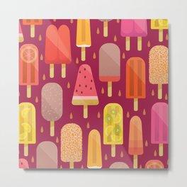 Popsicle afternoon Metal Print