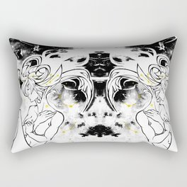 Inktober : Galaxy Rectangular Pillow