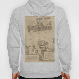 The Atlantic Neptune: Charts for the Use of the Royal Navy (1780) - Oyster Bay, Long Island Hoody