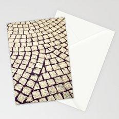 cobblestone pathway Stationery Cards