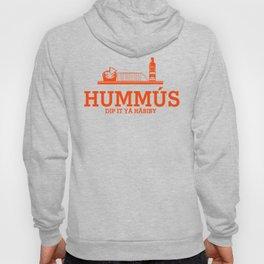 HUMMUS orange Hoody