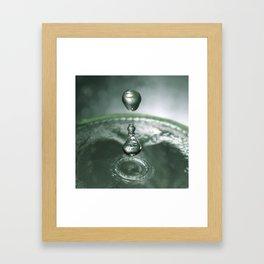 Liquid Play 4 Framed Art Print
