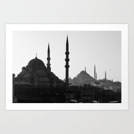 Mosques of Istanbul Art Print