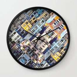 Apartments In The City Wall Clock