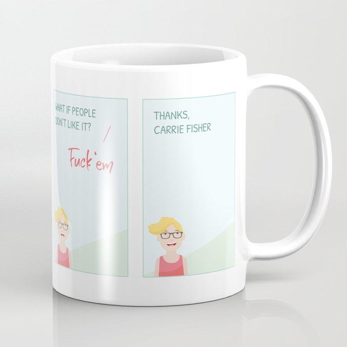 Thanks, Carrie Coffee Mug
