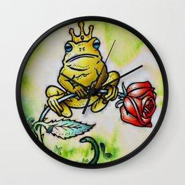 Prince Charming Frog, The Frog Prince Wall Clock